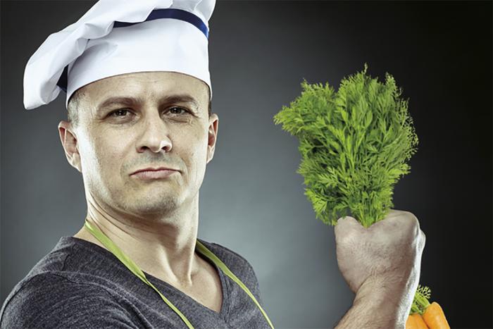 С грядки к столу-вегетарианство