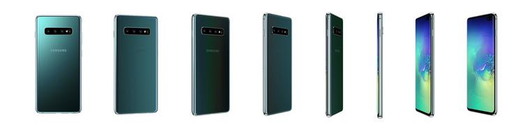 Samsung Galaxy S10+-аквамарин