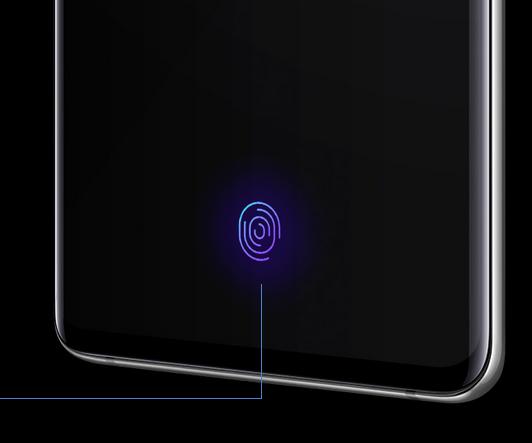 Samsung Galaxy S10+-ультразвуковой сканер отпечатков пальцев