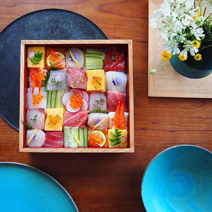 Суши-мозаика-гастротренды
