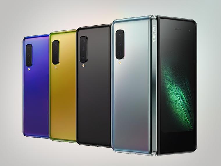 Цвета Samsung Galaxy Fold