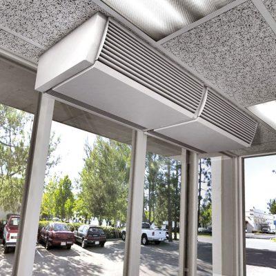 Тепловая воздушная завеса