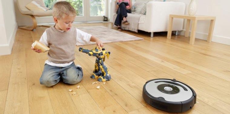 Тихий робот-пылесос