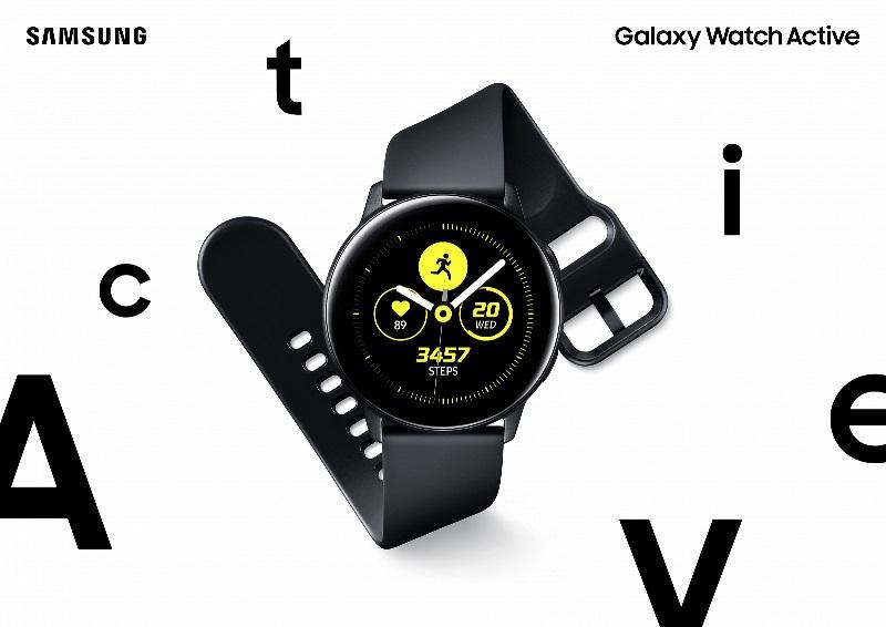Умные часы Samsung Galaxy Watch Active-с функцией измерения кровяного давления