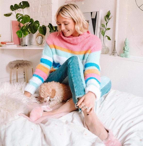 Уютный свитер-удобный февраль