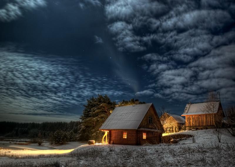 Зимний пейзаж-фото