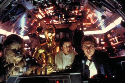 Классическая версия просмотра Звёздных войн