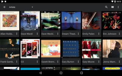 Аудіоплеєр PlayerPro на Андроїд