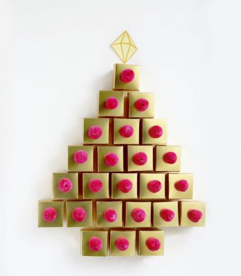 Golden-Tree-Advent-Calendar-DIY-Christmas-Decor-photo-5