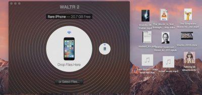 Додаток WALTR для безкоштовного завантаження музики на айфон