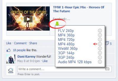 Завантажити Відео з Фейсбуку за допомогою утиліти SafeFrom