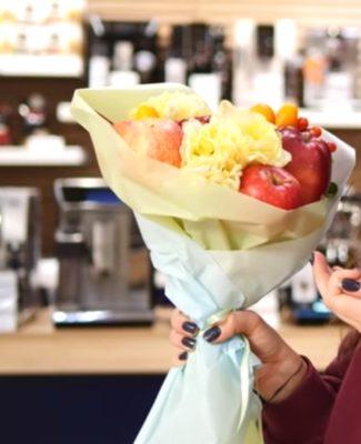 Готовий букет з фруктів: зовнішній вигляд