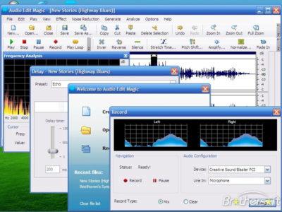 Приложение для поиска музыки Magic MP3 Tagger