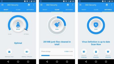 антивірус 360 Security на Андроїд
