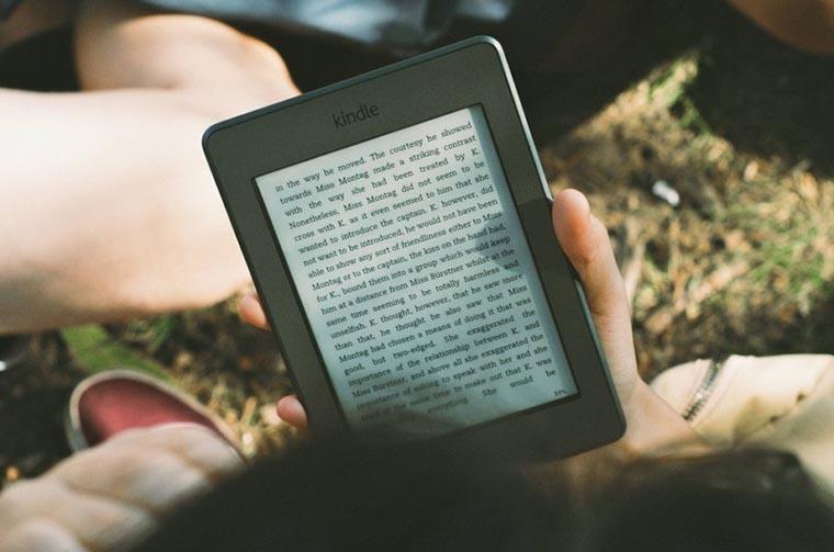 Чтение с электронной книги