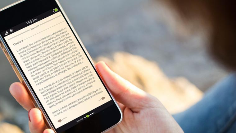 Чтение со смартфона