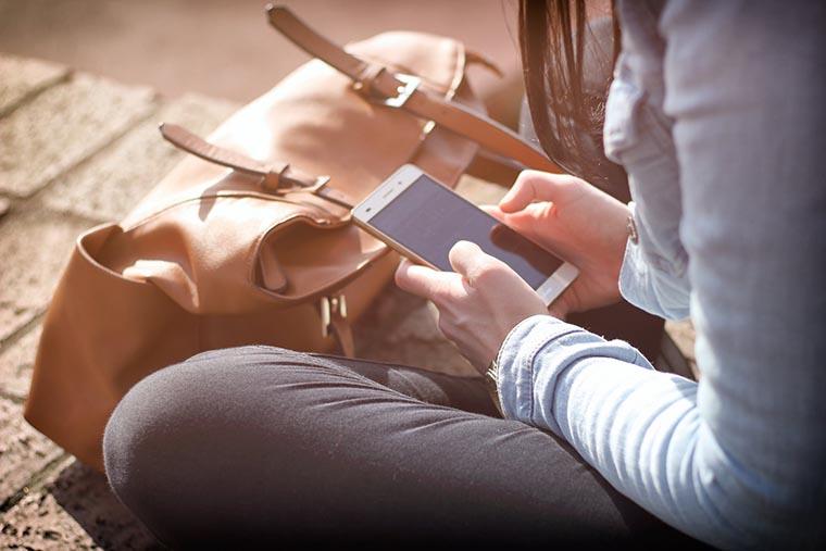 Экран смартфона