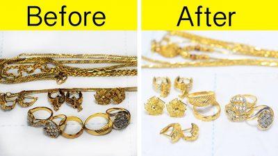 Як почистити золото вдома