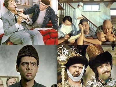 Советские комедии в рейтинге самых лучших фильмов