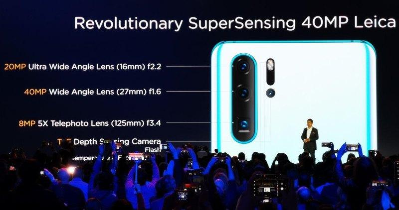Huawei P30 Pro-камера характеристики