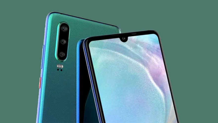 Huawei P30 и P30 Pro_новости, слухи, дата выхода, технические характеристики и многое другое - каплевидный вырез под камеру