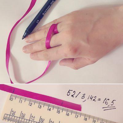 Как измерить размер пальца
