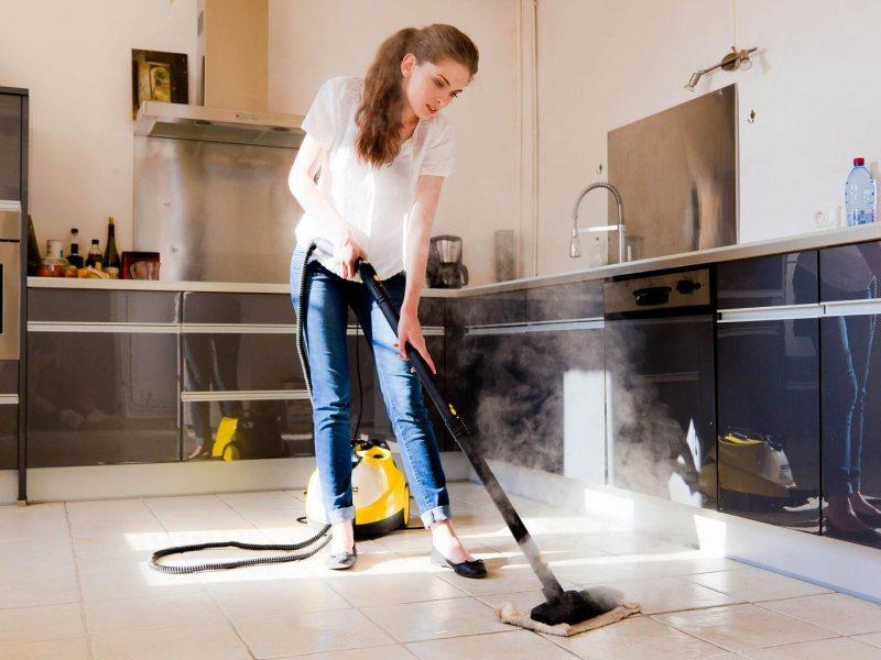 Как провести большую весеннюю уборку дома - уборка пароочистителем
