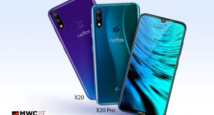 MWC-2019-Neffos X20 и Neffos X20 Pro