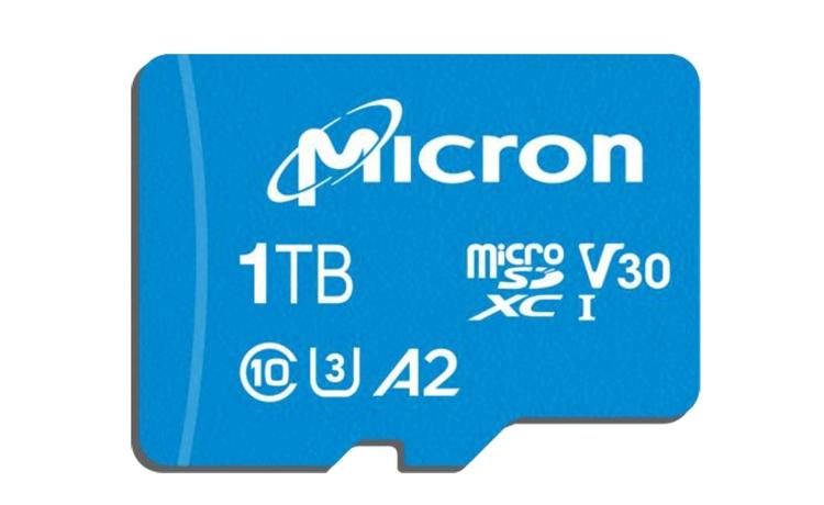 Micron-карта microSD 1 ТБ фото