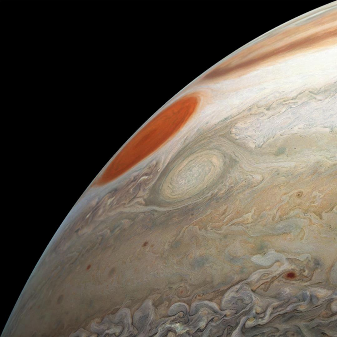 Невероятные фотографии атмосферы Юпитера 5