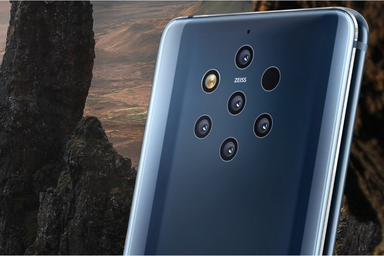 Nokia 9 PureView-с пентакамерой