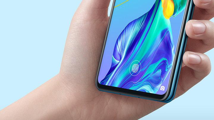 Новинки Huawei-сканер отпечатков пальцев