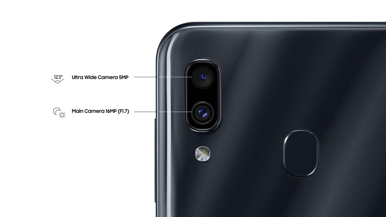 Обзор Samsung Galaxy A30_первопроходец серии А в 2019 году - камеры смартфона