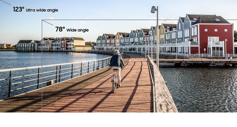 Обзор Samsung Galaxy A30_первопроходец серии А в 2019 году - широкоугольная камера