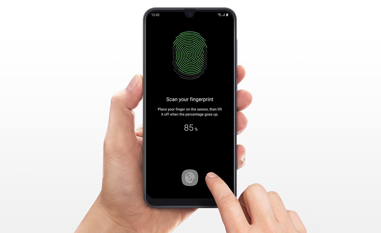 Обзор Samsung Galaxy A50_функциональная новинка 2019 года - сканер отпечатка под экраном