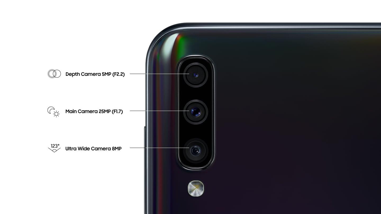 Обзор Samsung Galaxy A50_функциональная новинка 2019 года - три камеры смартфона