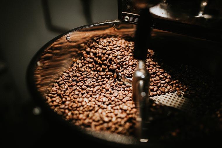 Работа кофемолки