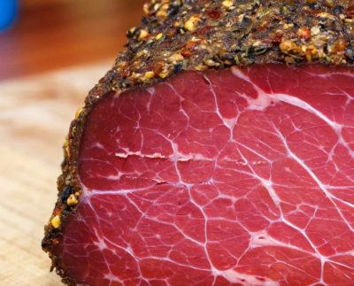 Рецепт бастурми з яловичини