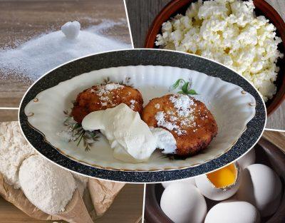 Рецепт приготування сирників