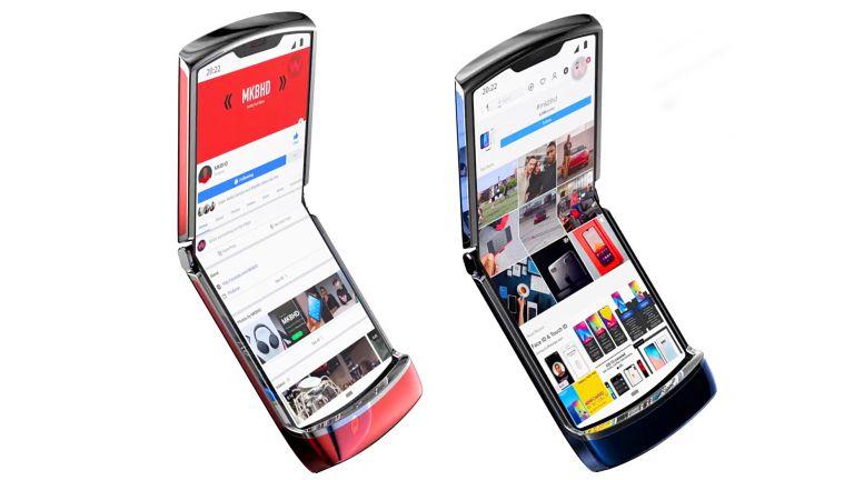 Складной телефон от Motorola 2
