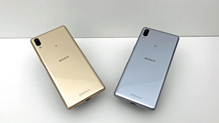 Sony Xperia L3-дизайн