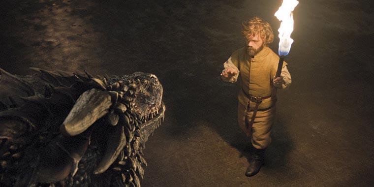Тирион и дракон