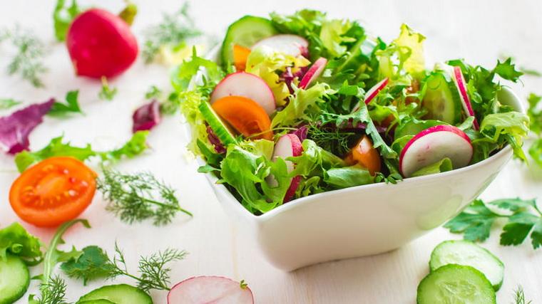 Великий пост-салат