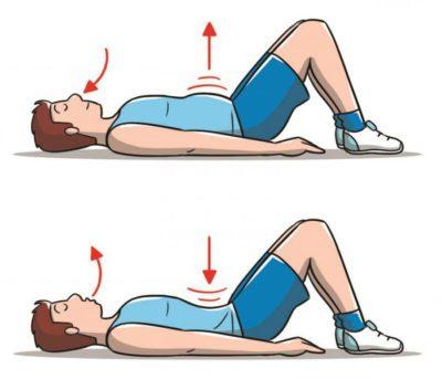 Дихальна вправа вакуум для живота