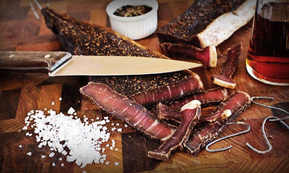 Билтонг-мясо