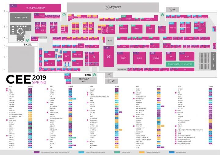 CEE-2019-карта выставки