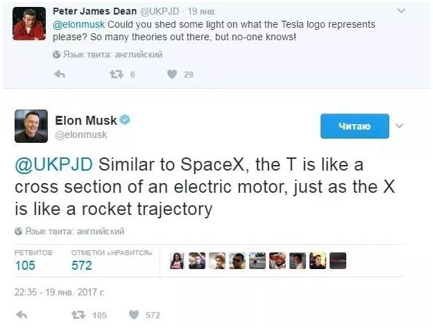 Что означает логотип Tesla 4