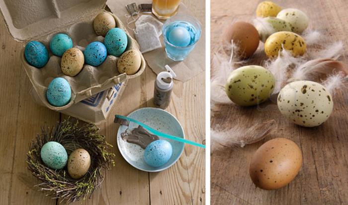 Декор перепелиных яиц-креативные идеи