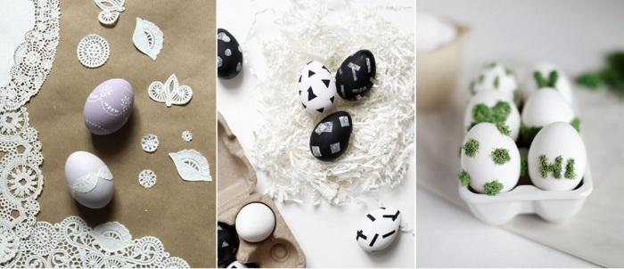 Декупаж пасхальных яиц-материалы
