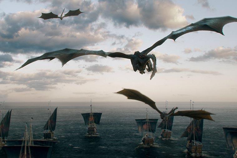 Драконы над морем